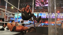 The Undertaker vs. Triple H with Shawn Michaels as special guest referee. WWE WrestleMania XXVIII. 2012.