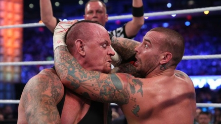 The Undertaker vs. CM Punk. WWE WrestleMania 29. 2013.