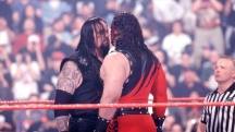 The Undertaker and Kane, the first match. WWE WrestleMania XIV. 1998.